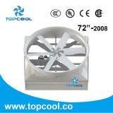 Special centrífugo del ventilador de la pulgada del ciclón 72-2008 para el granero de lechería