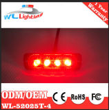 Un indicatore laterale/indicatore/spazio LED dei 4 LED illumina 24V per il camion
