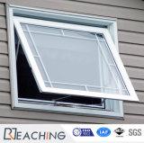 고전적인 디자인 UPVC/PVC 차일 Windows 단 하나 윤이 난 PVC 슬라이딩 윈도우