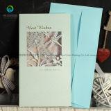 Kundenspezifischer Luxuxhochzeits-Einladungs-Karten-Entwurf mit Umschlag