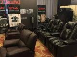 Стулы киноего горячего сбывания коммерчески с местами театра кино Genuien верхней части задней части максимума кожаный