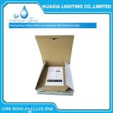 luz subacuática llenada resina de la piscina de la lámpara de 12V LED