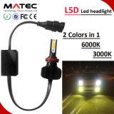 자동 LED 차 헤드라이트 H1 H7 H11 H4 9005 9006 360 가벼운 LED 헤드라이트