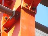 Los paneles de la vertiente y de pared del acero y los paneles de la azotea y almacén de almacenaje de acero