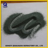 Polvere sintetica F1500 del carburo di silicone del nero dello smeriglio micro