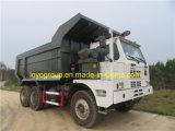 Sinotruk HOWO 70 톤 광업 덤프 트럭