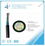 중국 공장 12 코어 오오 광학 섬유 케이블 Fo는 Unitube 중앙 구조를 위해 케이블을 단다