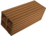 Le poste composé extérieur de balustrade de WPC (90*90 millimètre) avec la longueur, couleurs peut être personnalisé