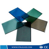 vidro de flutuador Tempered ultra desobstruído de 4-12mm /Reflective/Figured/Patterned/Building/Laminated