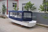Liya Fibra de vidrio de 25 pies de la construcción de barcos barco de fibra de vidrio de la consola central