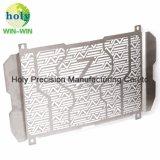 Kawasaki-Motorrad-Gebrauch-Kühler-Schutz durch die Metalbrushed CNC maschinelle Bearbeitung