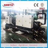 Compresores de tornillo doble Bitzer refrigerado por agua enfriador de agua