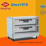 Большая печь пиццы хлебопекарни емкости 2-Deck 6-Tray электрическая с 1979