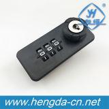 3 Digital de alta calidad combinación cerradura con llave maestra (YH1919)