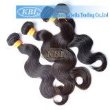 Cheveux humains indiens normaux de qualité