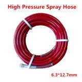 """1/4"""" SAE100 R7 flexible haute pression de pulvérisation le flexible hydraulique de 6,3*12.7mm - Rouge"""