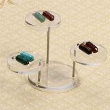 Bancada personalizada jóia de acrílico suporte da tela de toque do visor de jóias