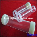 Polierschraubengewinde-fixierter Quarz-Rohrleitung-Lieferant