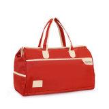 Красный вскользь Duffle отдыха перемещения резвится мешок багажа