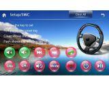 GPS van de auto met Link van de Spiegel van BT iPod RDS de Radio3G