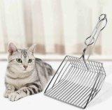 Nicht Stock-haltbare Metallhöhlung-Reinigungs-Filter-Katze-Toiletten-Sänfte-Schaufel, tiefe Schaufel-Sänfte Scooper