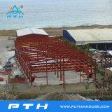 산업 건축 디자인 강철 구조물 창고 (PTW-008)
