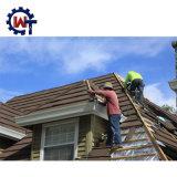 Home Depot石造りの上塗を施してあるバングラデシュの波形の屋根ふきシート
