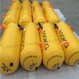 O PVC coloridos teste de carga de baleeiras recolhível sacos de peso de água