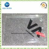 Zak van de Ritssluiting Vinly van Recycble de Duidelijke. De Kosmetische Zak van Vinly (JP-plastic055)