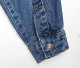 Couche extérieure de jupe sans col de denim de dames de mode