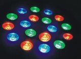 工場価格PAR38 18X3w RGBの細い洗浄LEDメガ平らな同価ライト(ICON-P032C)段階のイベントかクラブまたはディスコ装置