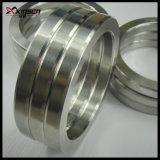 SS304, de acero suave, SS316, Acero al carbono, juntas de anillo Oval