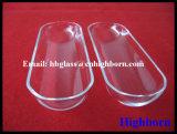 Portador transparente de la oblea del vidrio de cuarzo de la silicona fundida de la resistencia térmica