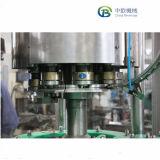 Bouteille de verre rotatif entièrement automatique Boisson gazeuse capping de remplissage de la machine à laver/ligne