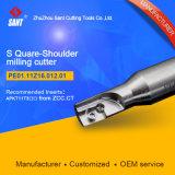 Fresa de hombro ajustable de fresadoras de máquina CNC