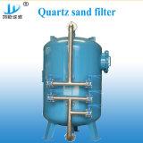 Filtre de sable utilisé industriel de quartz de traitement des eaux de piscine