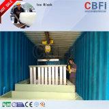 コイルの管の蒸化器のガーナの市場のためのコンテナに詰められたブロックの製氷機