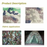 Fr and PU Coated Green and Black Party Camouflage Net, 150d 210d Camo Mesh Netting for