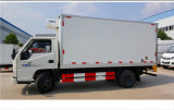 Sinotruk Cdw 4장 톤 Refrigerator Truck 밴 Truck Refrigerated 상자 차