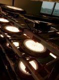 100W 150W 200W LED産業倉庫のために円形高い湾ライトUFO