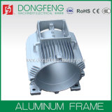 Cassa della carcassa di motore dell'alluminio dell'OEM/ghisa per macchinario