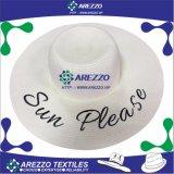 Chapéu de papel da praia da palha das mulheres (AZ016A)