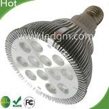 IP20 5*2 ВТ PAR30 светодиодные лампы направленного 10W PAR лампа