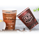 Le tazze di caffè di carta del tè hanno reso personali le tazze a gettare