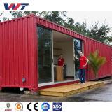 Casa ensanchable prefabricada del envase del panel de emparedado de los 20FT