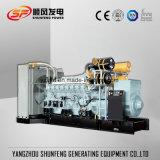 diesel van de 1750kVA1400kw Mitsubishi Electric Macht Generator met Brushless Alternator
