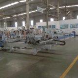 Janela de PVC solda CNC Automático das Portas e Linha de Limpeza