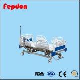 Четыре функции для пациентов больницы с электроприводом кровати с элеватора соломы (HF-848)