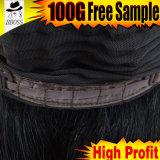Perruque en soie de lacet avec le cheveu de Brésilien de la pente 10A