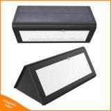 lumière actionnée solaire de détecteur de mouvement de la garantie 800lm de lampe extérieure de nuit